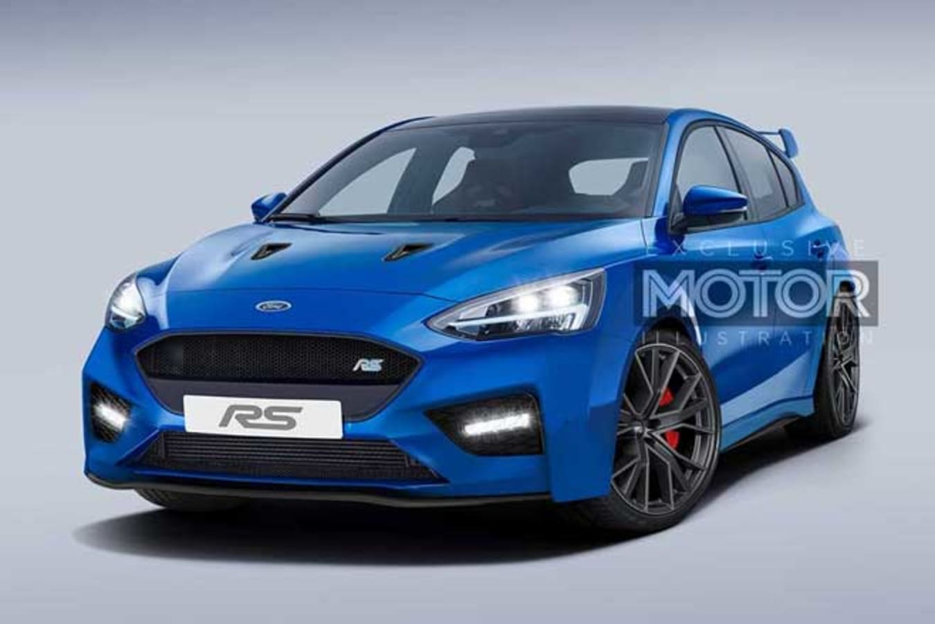 2020 Ford Focus RS Front Jpg