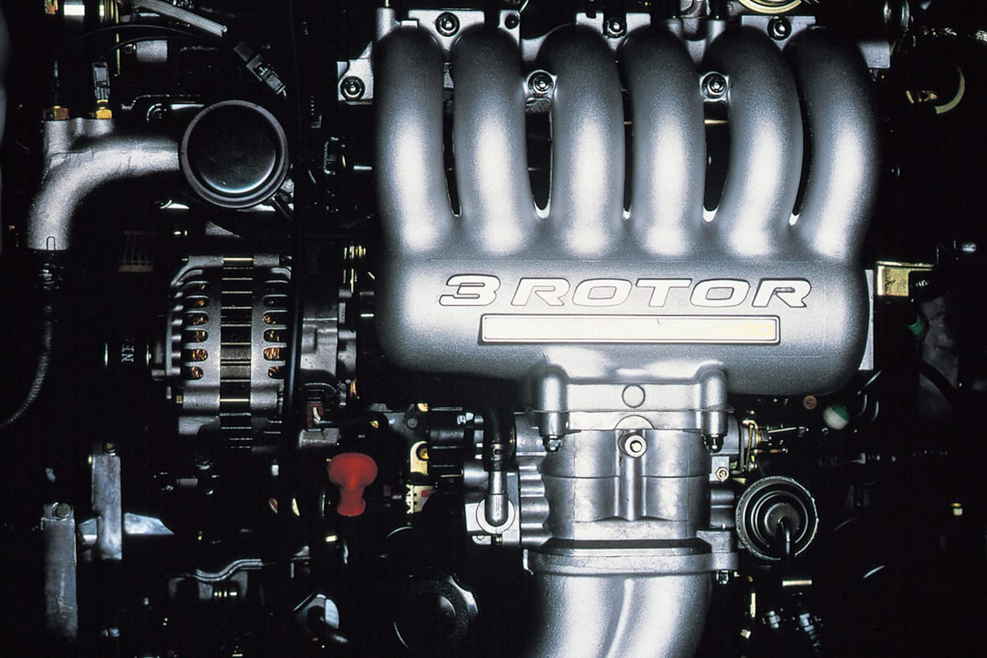Mazda Turbo Cosmo Engine Jpg
