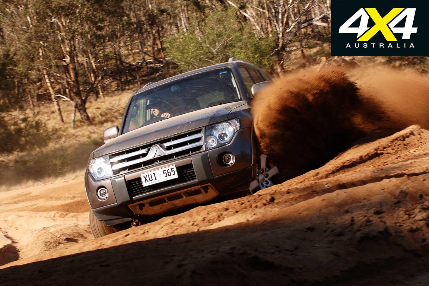 2009 Mitsubishi Pajero Off Road Sand Drivingjpg Jpg