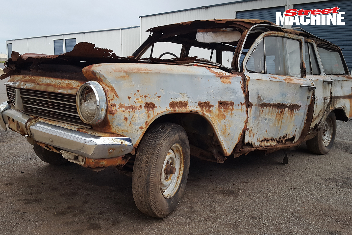 EH Holden Wagon Rusty 4