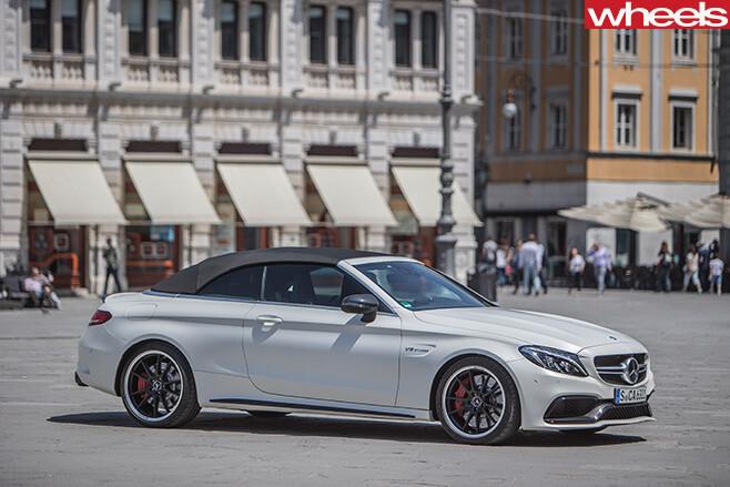 Mercedes -Benz -C-Class -Cabriolet -front -side