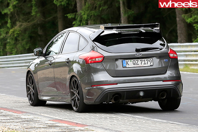 Ford -Focus -RS500-rear