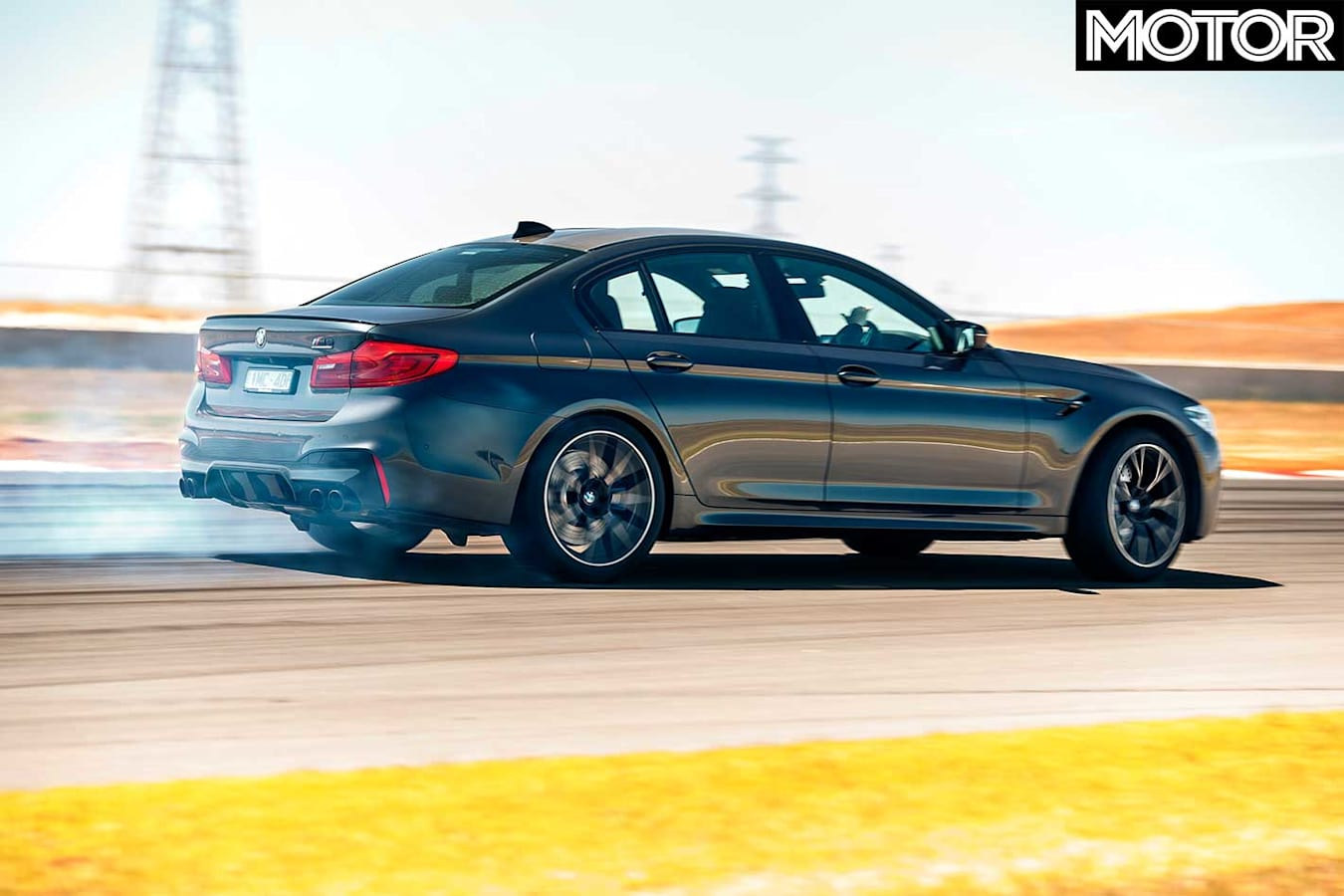 Performance Car Of The Year 2019 Track Test BMW M 5 Competition Jpg