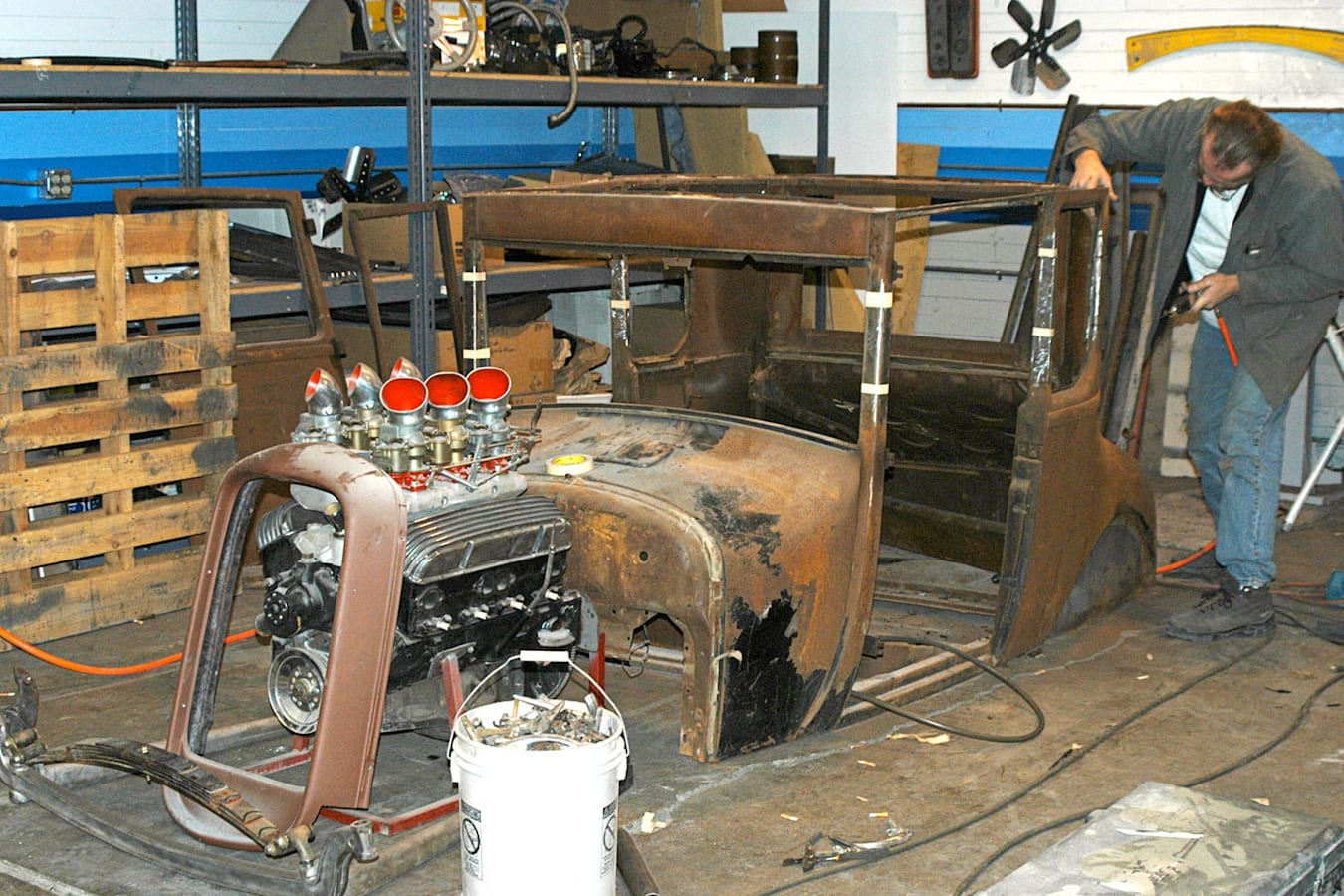Ford Model T construction