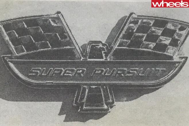 1964-Ford -Falcon -Super -Pursuit -badge