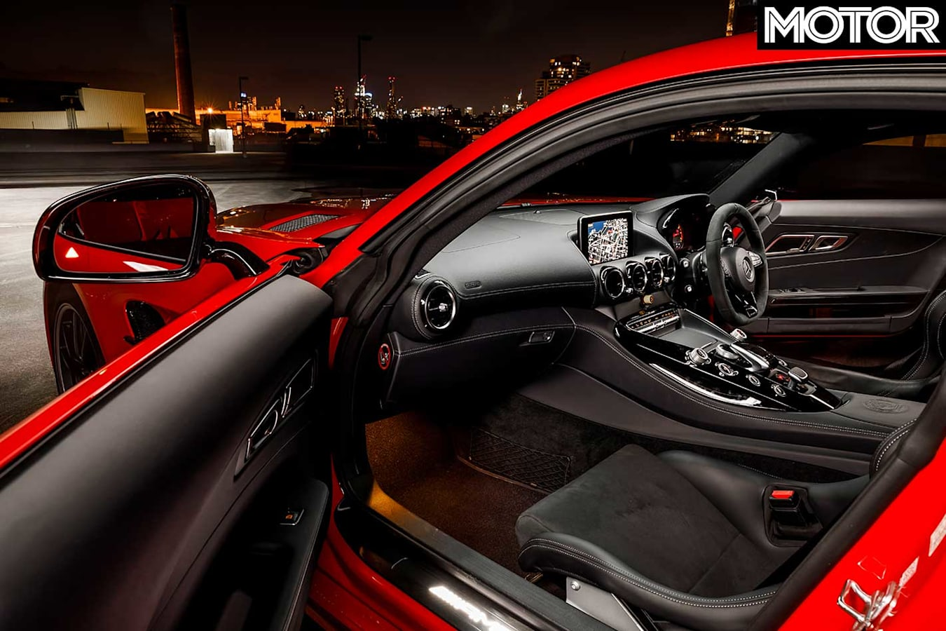2019 Mercedes AMG GT R 12 Hours Review Interior Jpg