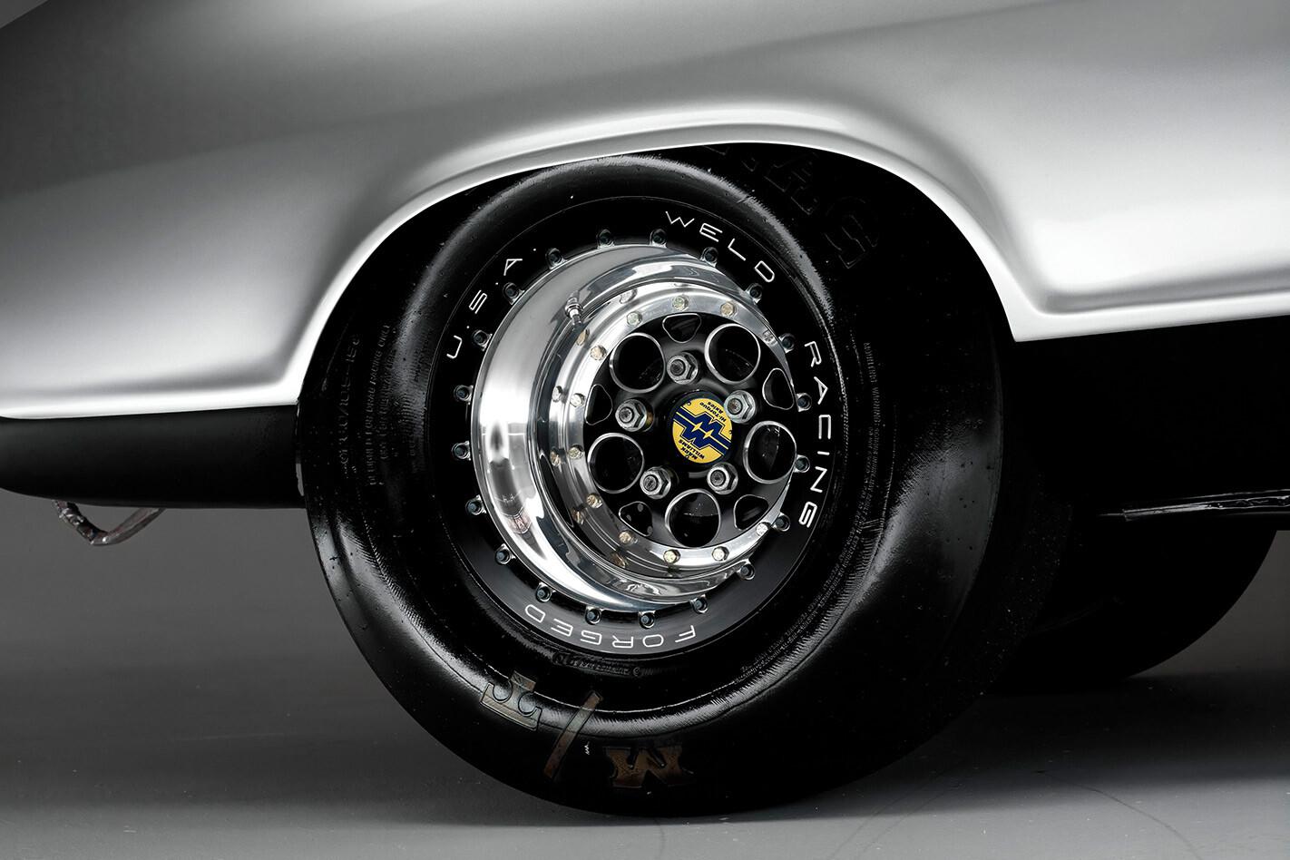 Holden LC Torana rear wheel