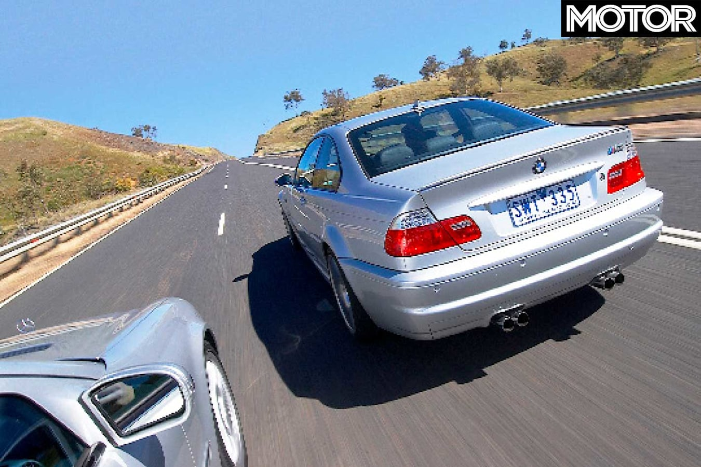 2005 BMW M 3 Vs Mercedes Benz C 55 AMG Comparison Performance Jpg