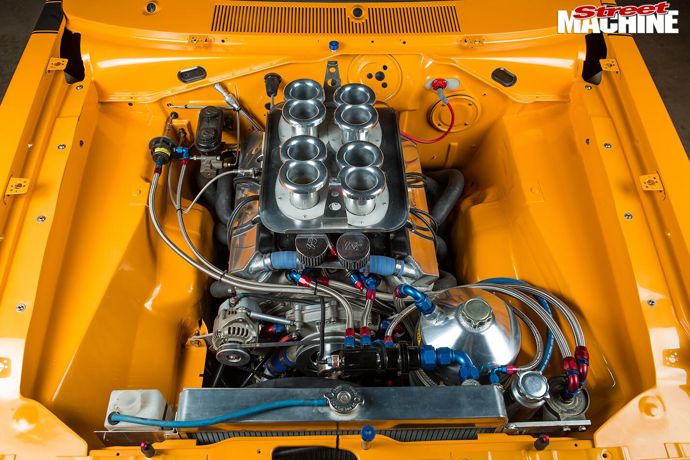Chrysler -valiant -e 55-charger -engine -bay