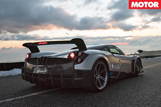 Pagani Huayra BC review rear