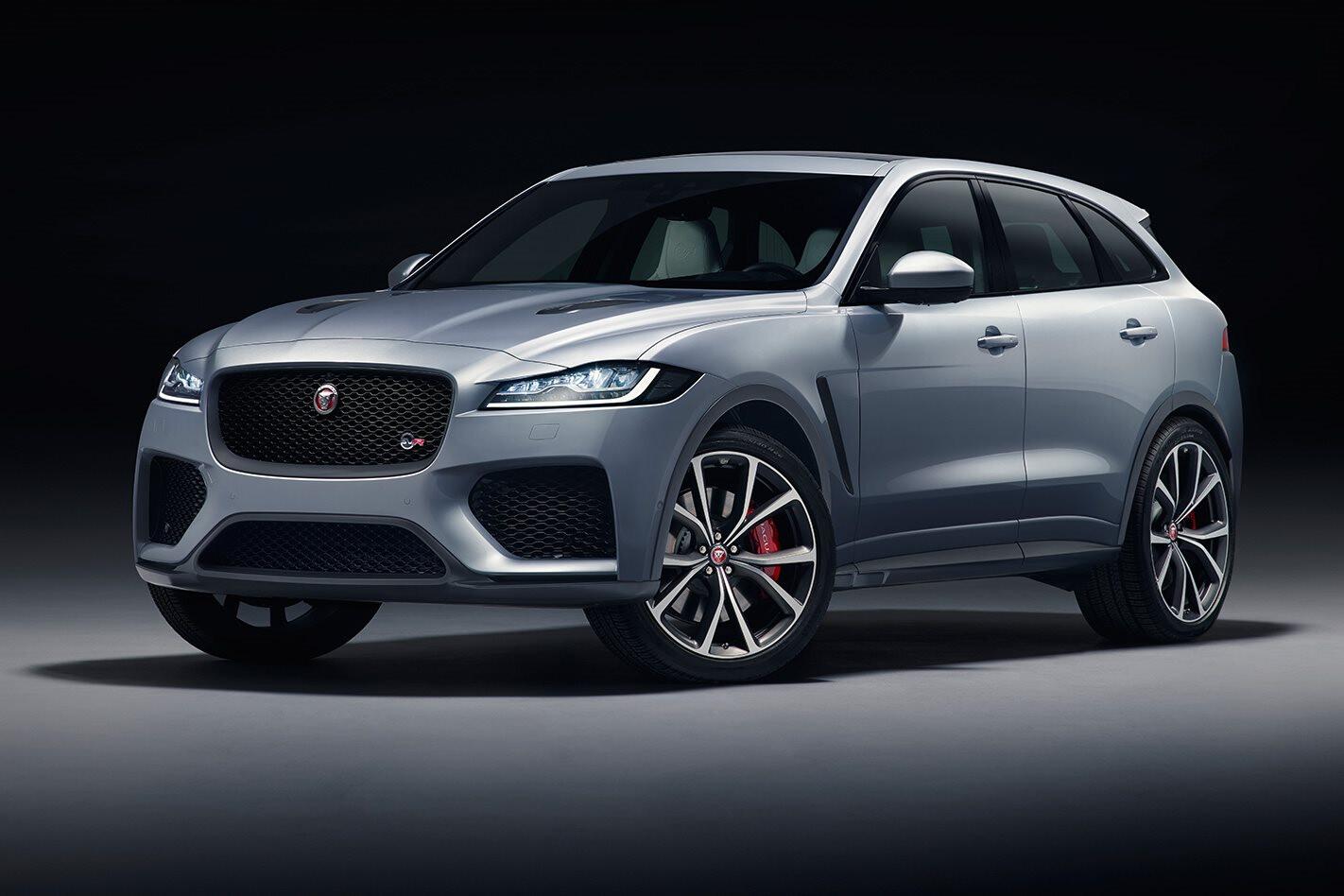2018 New York Motor Show Jaguar F-Pace SVR revealed