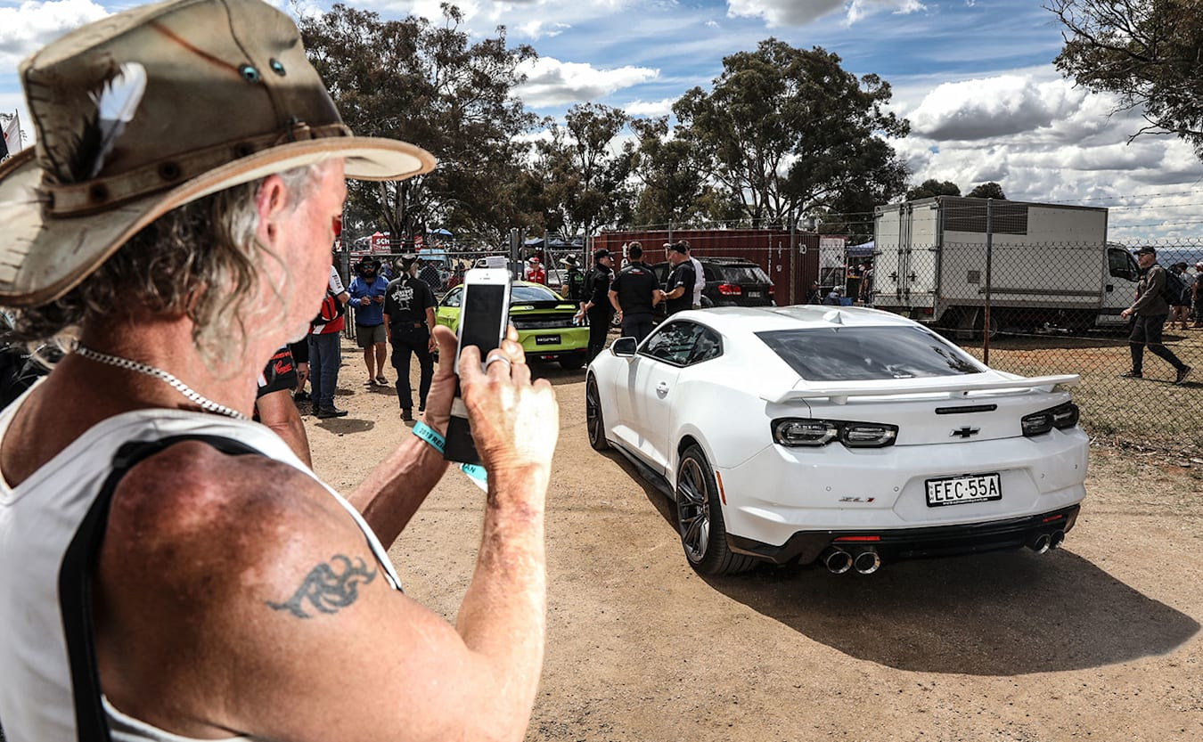 We crash Ford's Bathurst Mustang R-Spec party with Camaro ZL1