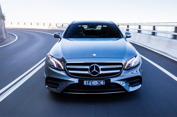 Mercedes E Class Front Jpg