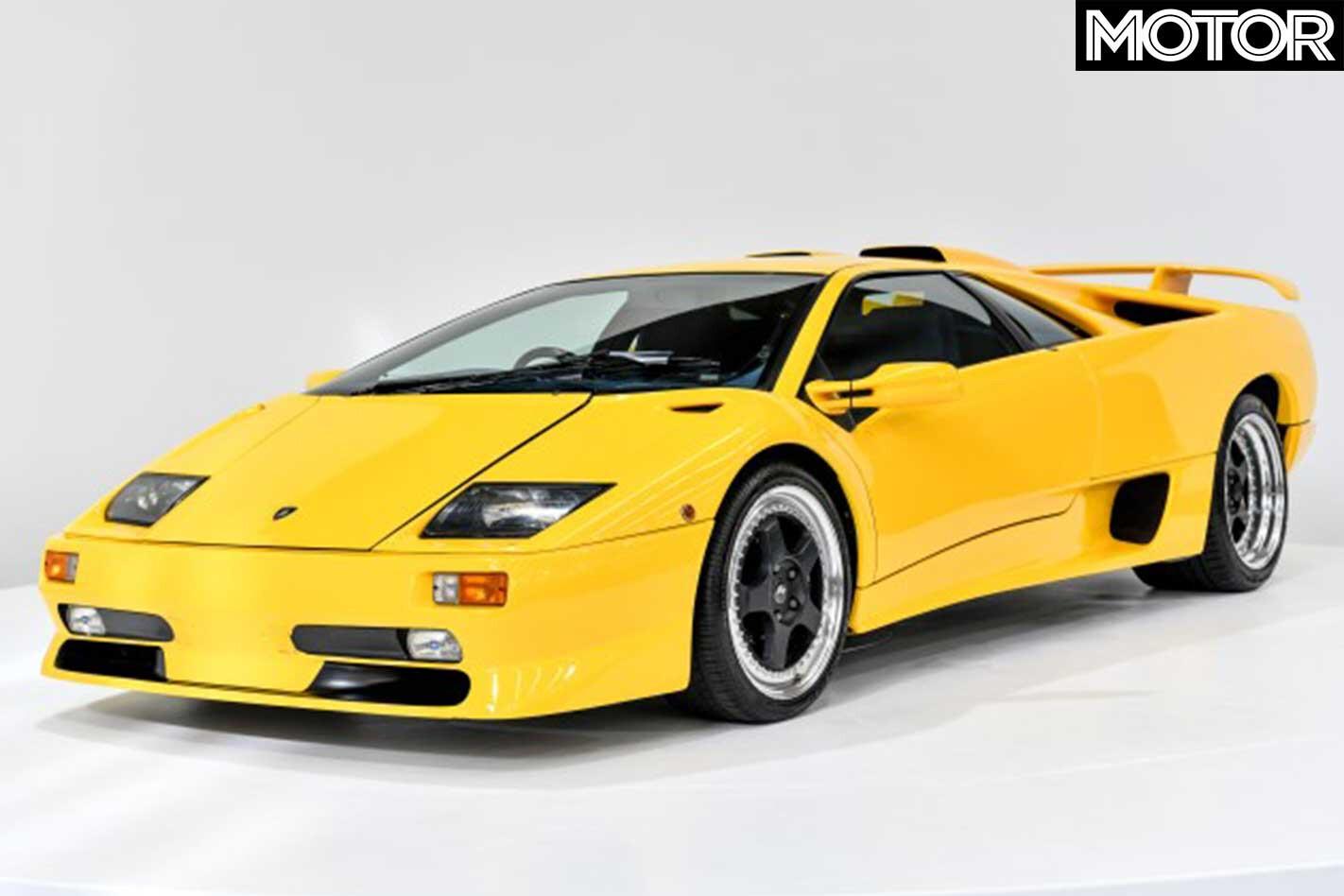 Gosford Classic Cars Auction Lamborghini Diablo Front Jpg