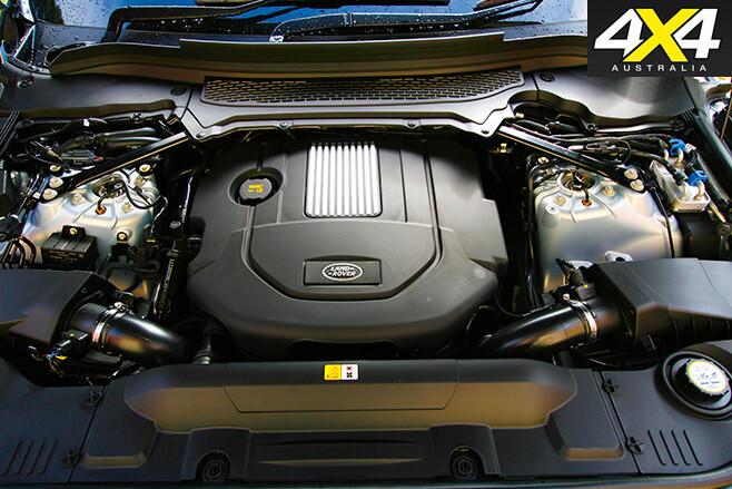 Range rover sport hybrid engine