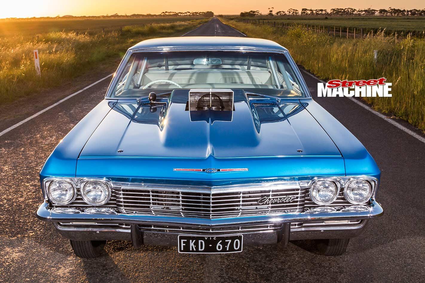 Chev Impala front