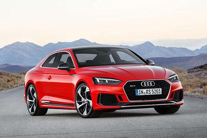 Audi RS5 revealed at 2017 Geneva Motor Show