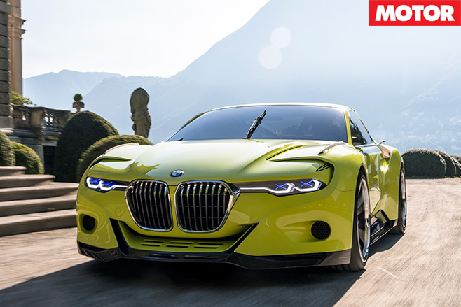 BMW CSL Hommage Concept front