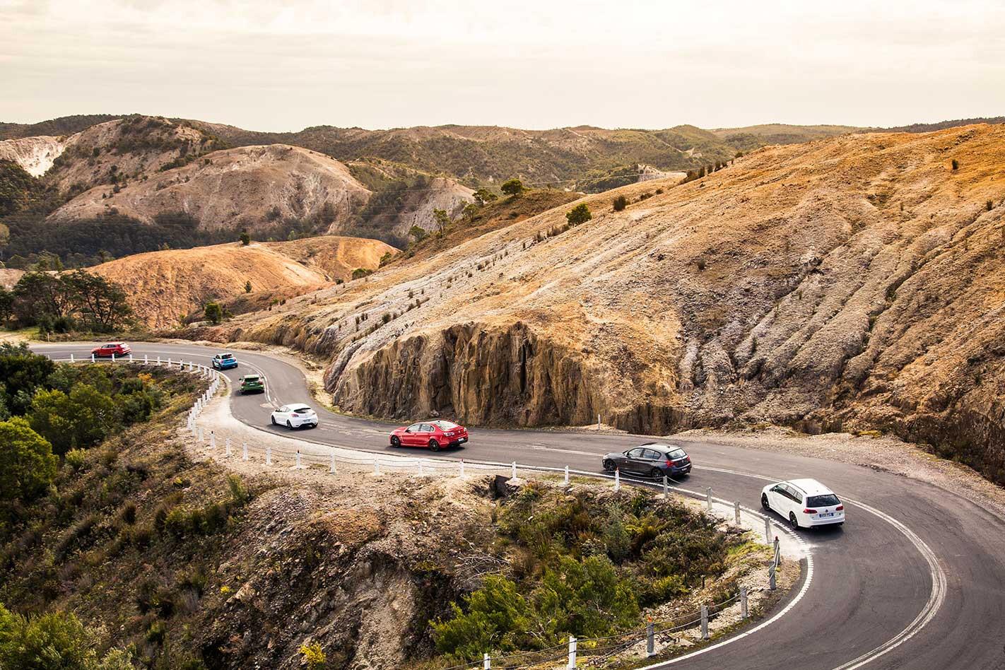 TAS driving roads