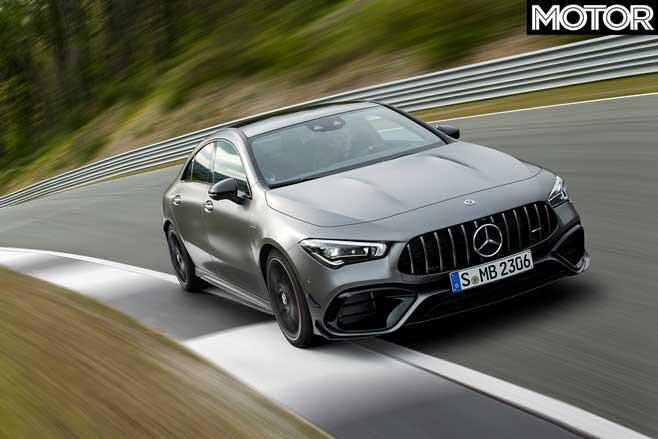 2020 Mercedes-AMG CLA45 performance