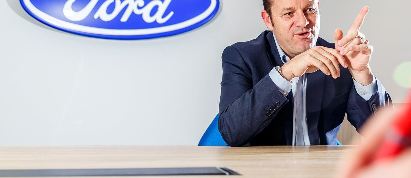 Wheel Interview: Graeme Whickman - Ford one year on