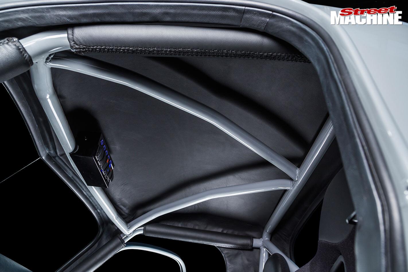 Holden FJ ute roof lining