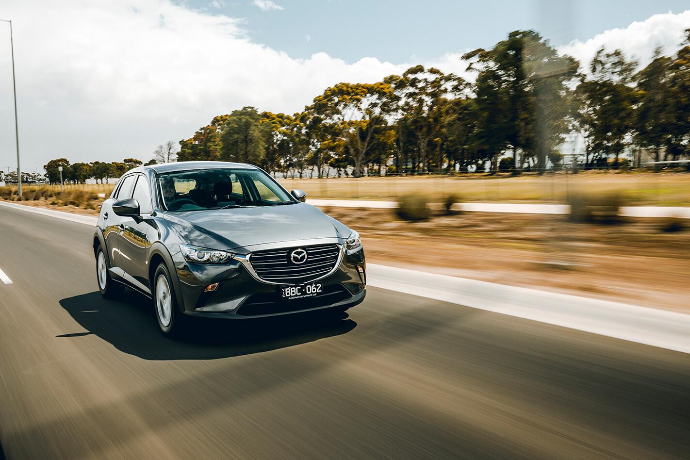 2020 Mazda CX-3 silver