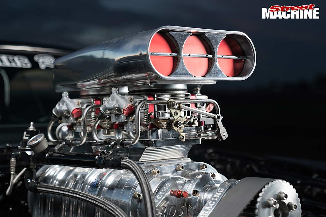 Dodge Charger blower