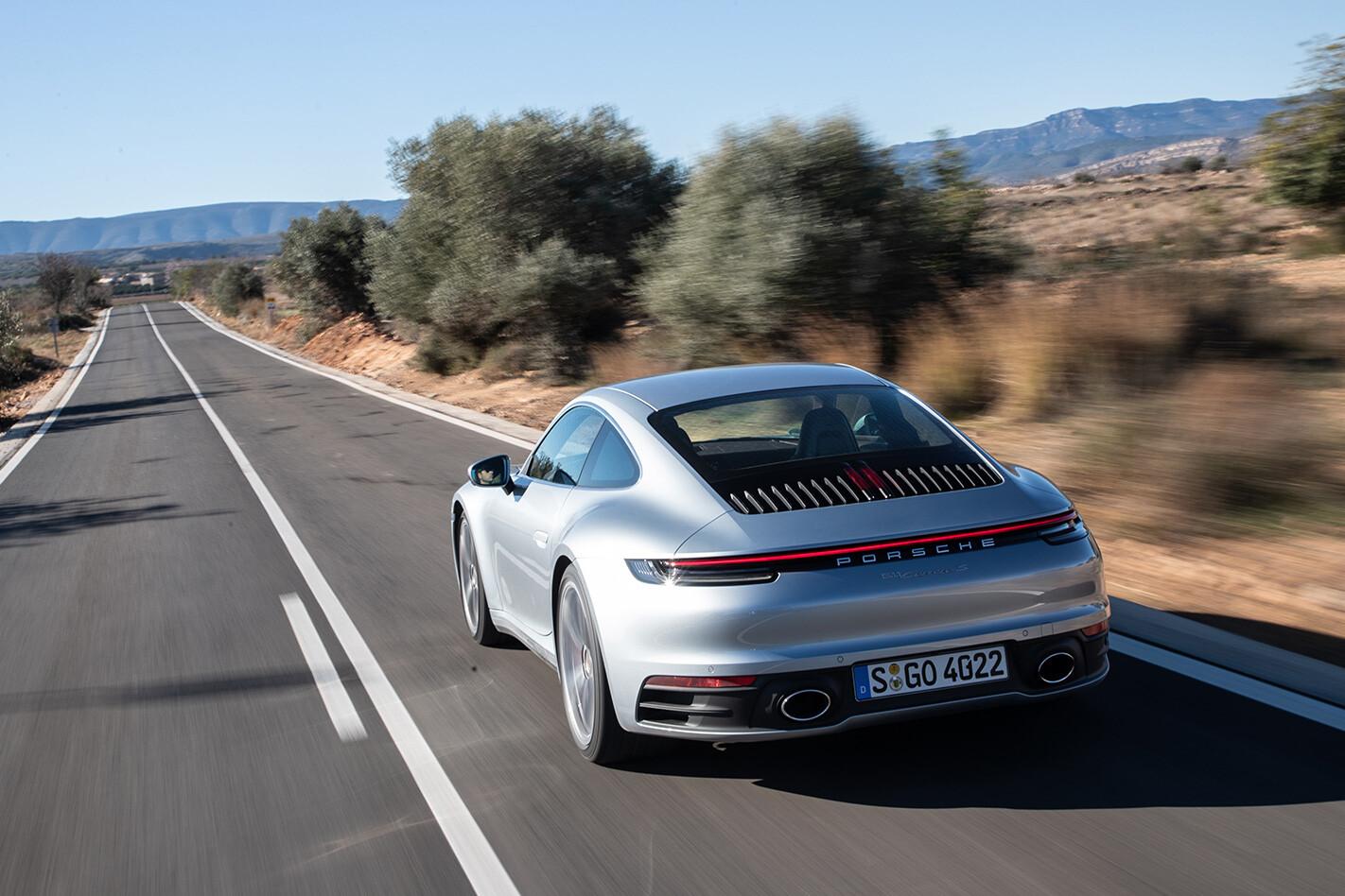 Porsche 911 Carrera S Rearss Jpg