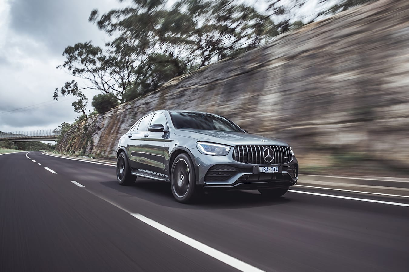 Mercedes AMG GLC 43 Review Front Jpg