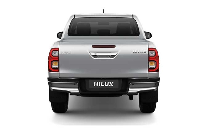 2020 Toyota Hilux rear