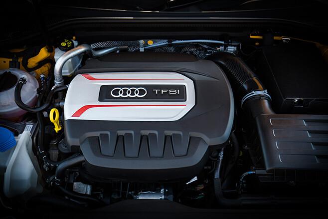 2017 Audi S3 engine