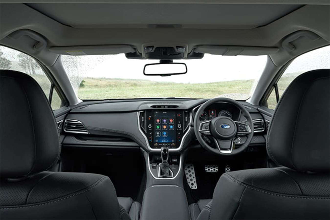 2021 Subaru Outback Touring interior
