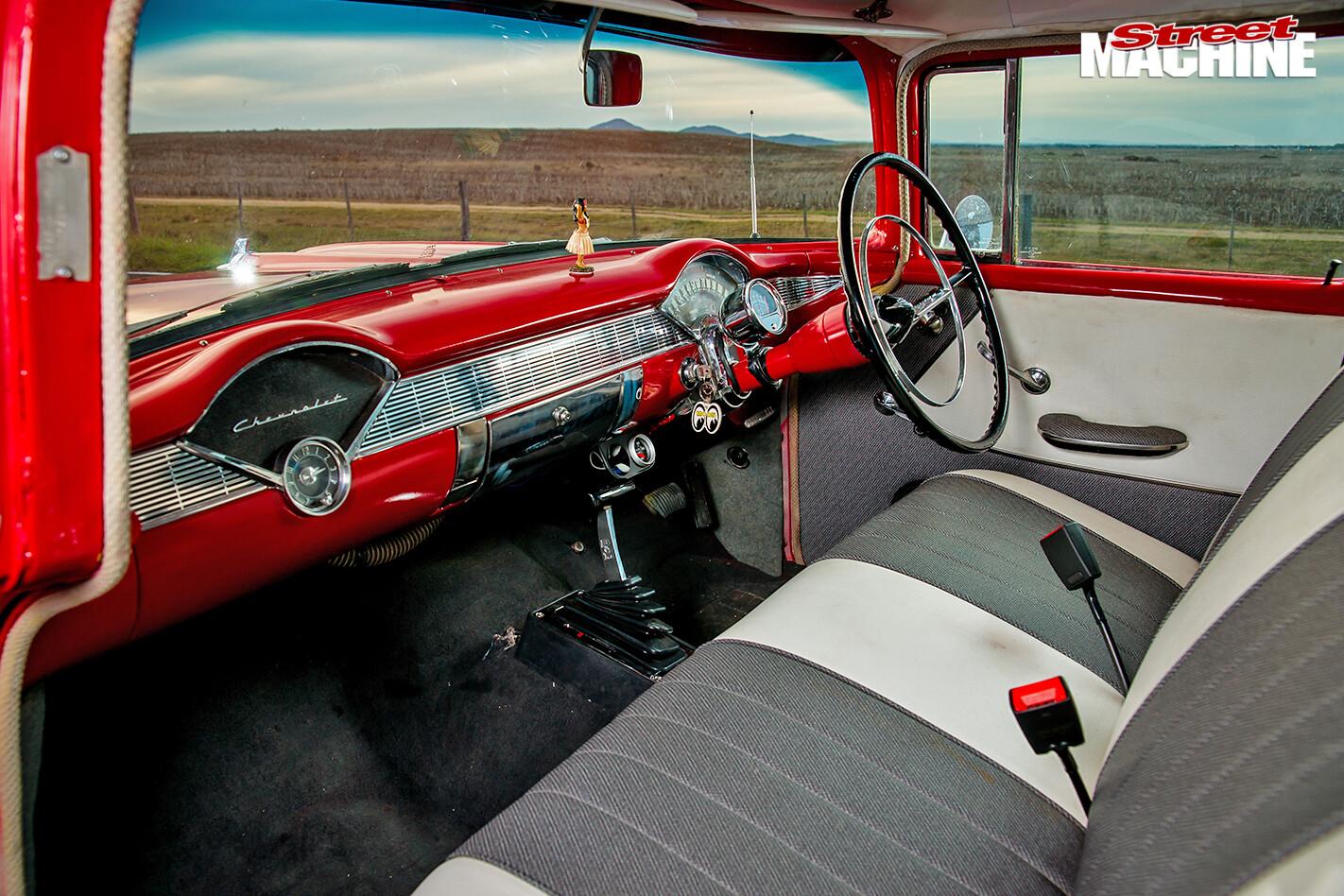 Chevrolet -wagon -interior