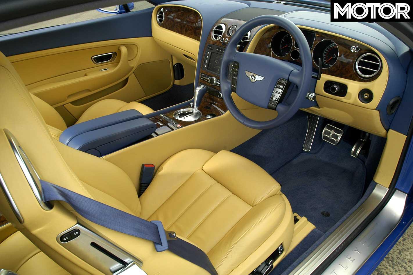 2004 Bentley Continental GT Interior Jpg