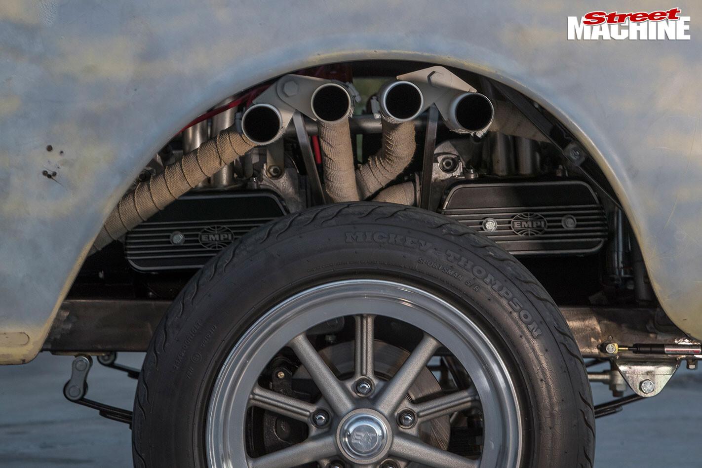 VW gasser wheel