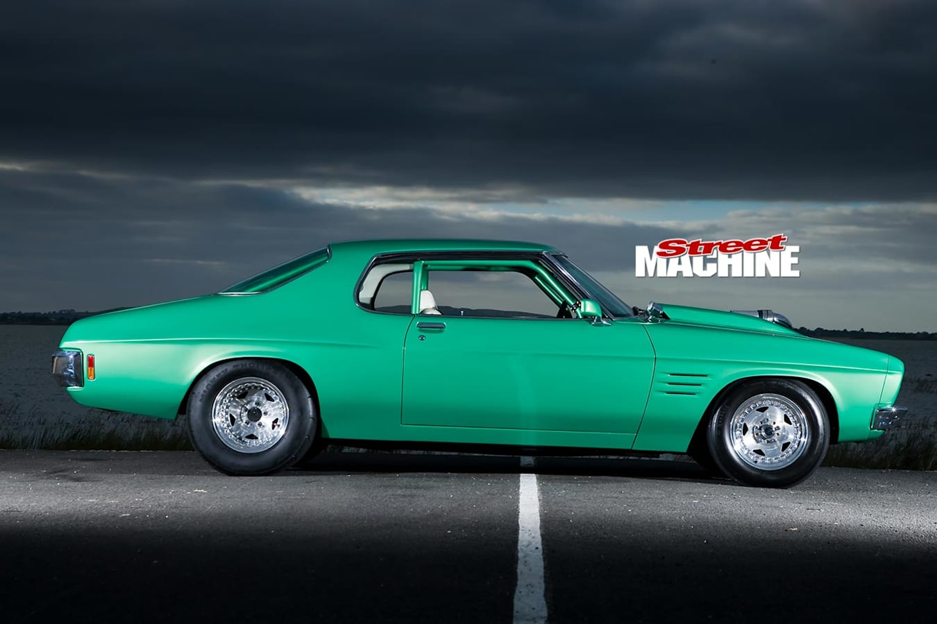 Holden HQ GTS coupe side