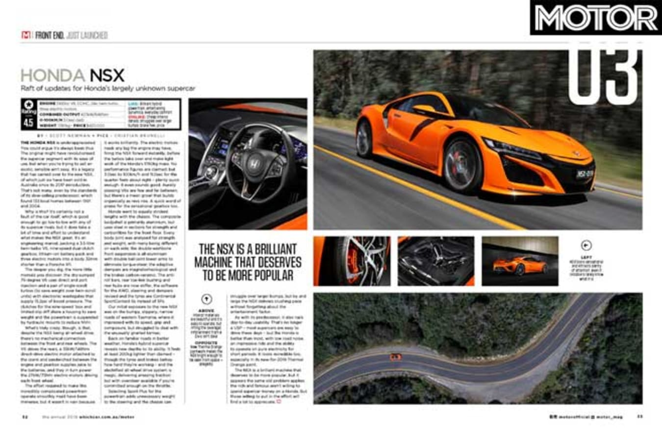MOTOR Magazine Annual 2019 Issue First Drive Jpg