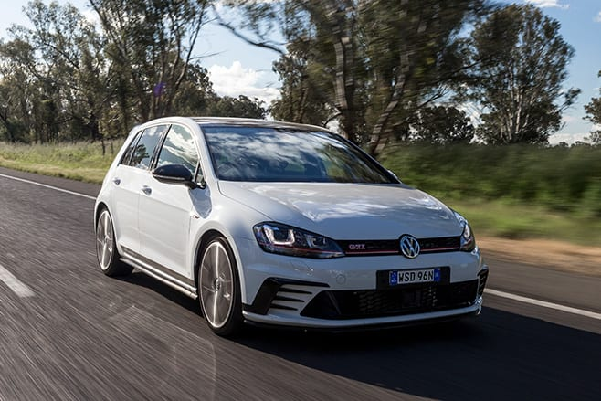 VW Golf GTI 40 years front