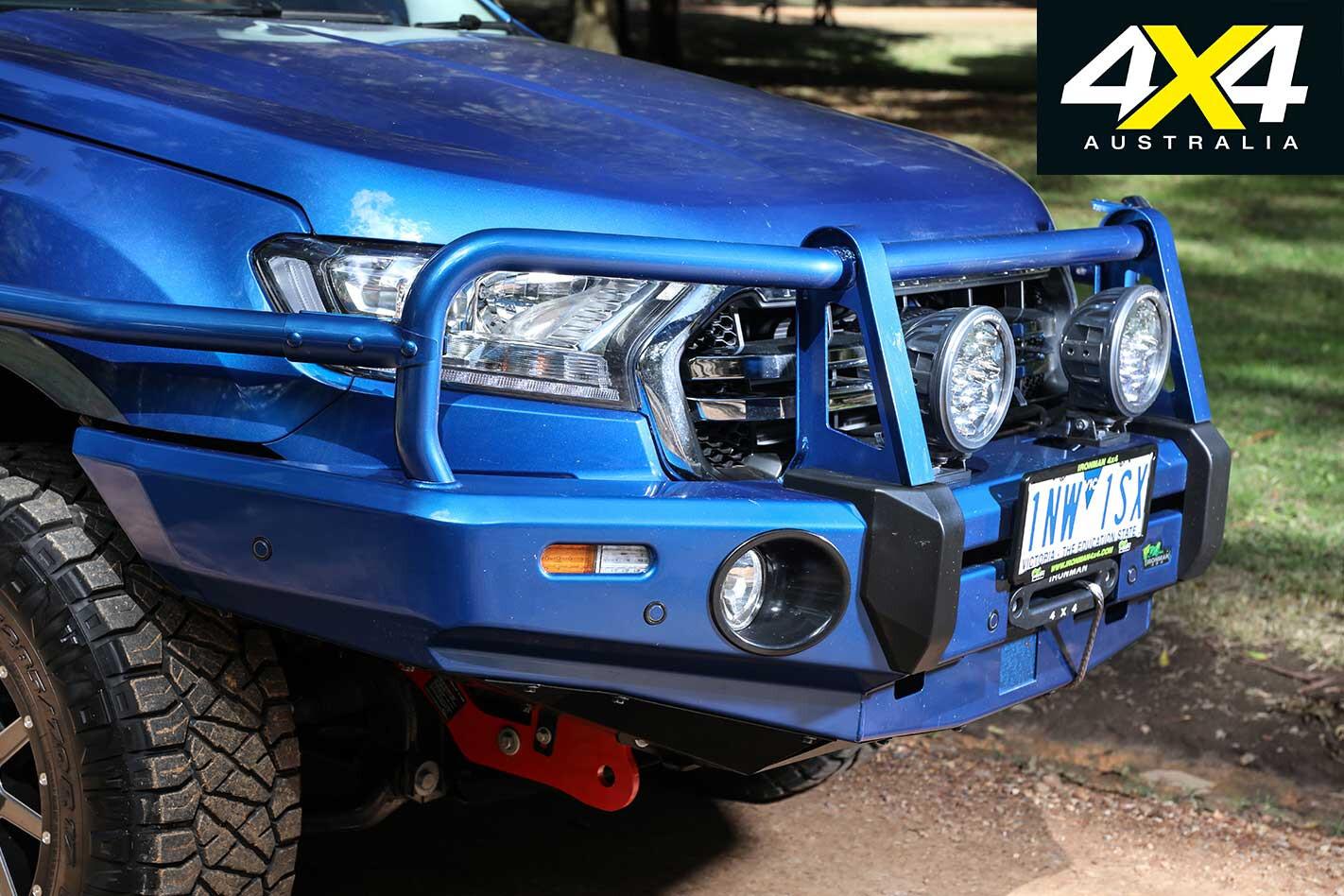 Ironman 4 X 4 2019 Ford Ranger Front Bumper Bullbar Jpg