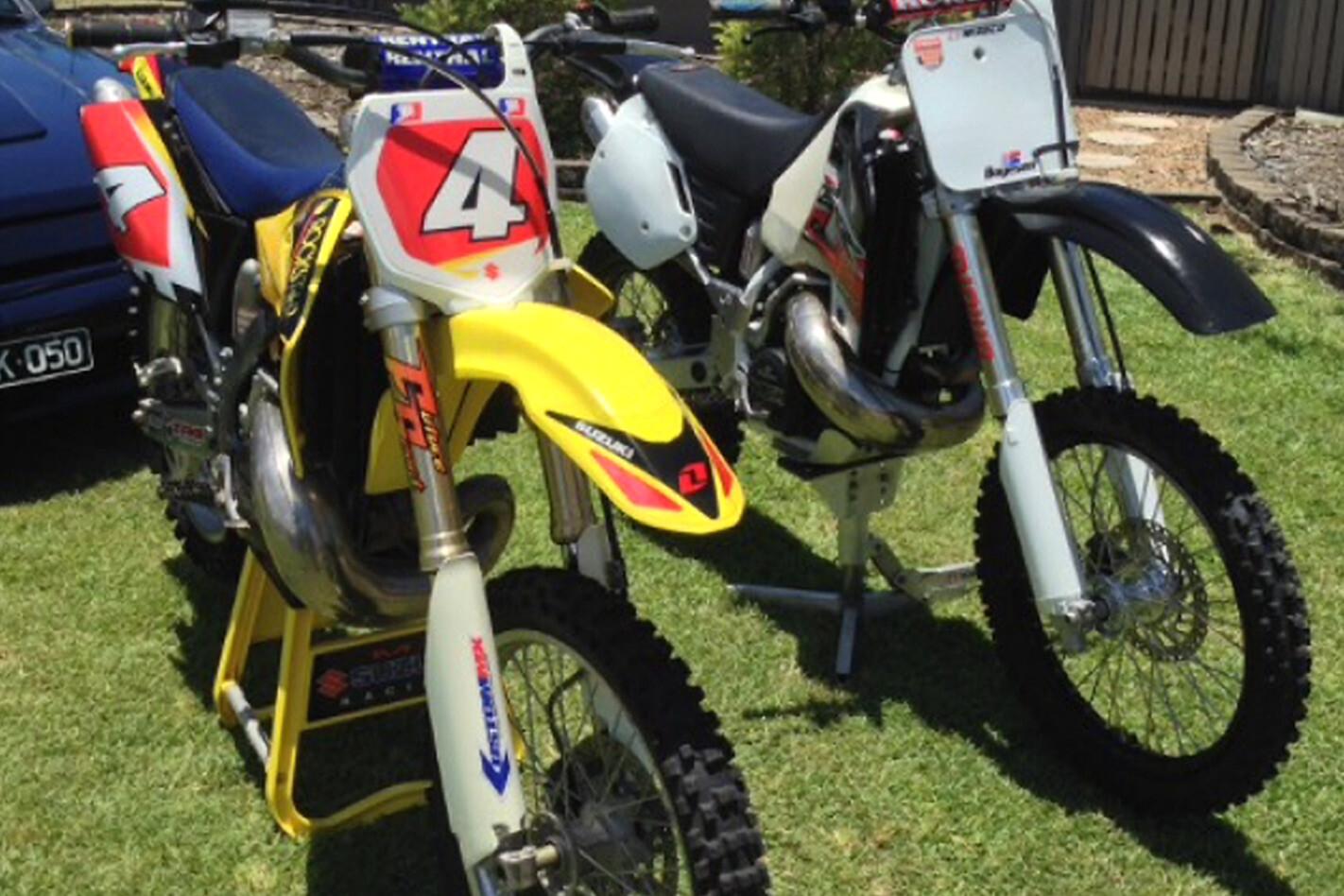 Adam Shears' motorbikes