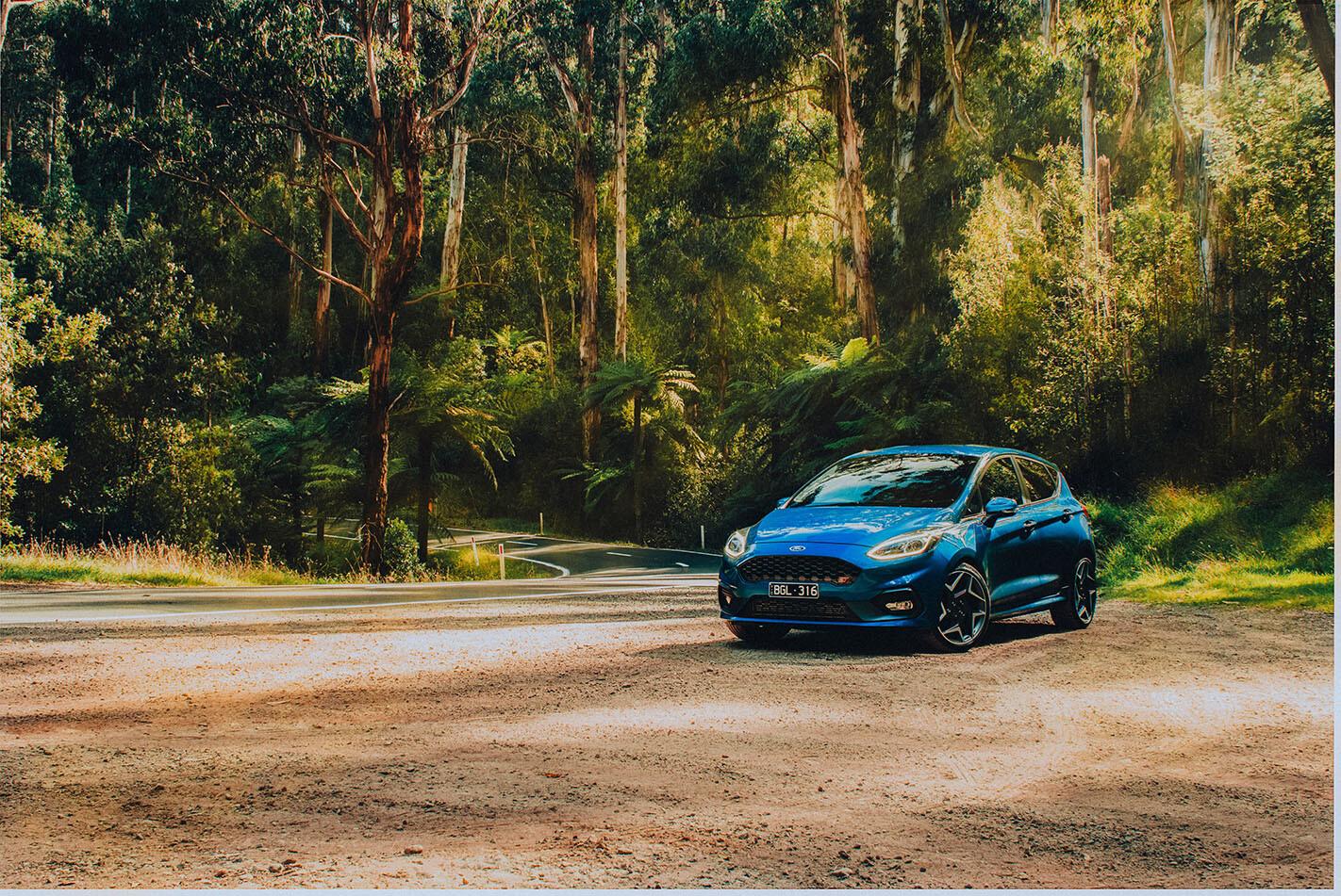 2020 Ford Fiesta ST static