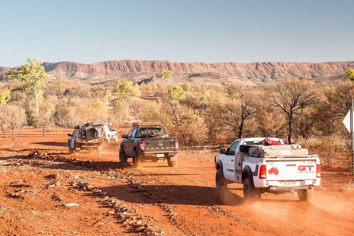 4x4 adventure through the centre of Australia Episode 1