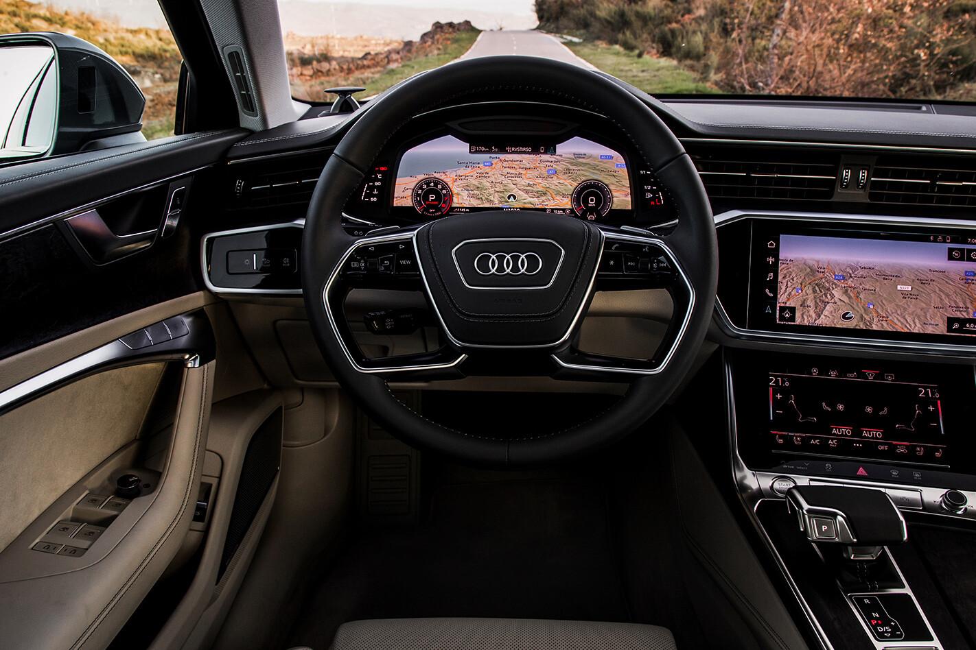 Audi A 6 Driver Seat Jpg
