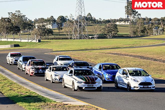 Hot tuner challenge 2015 cars line up