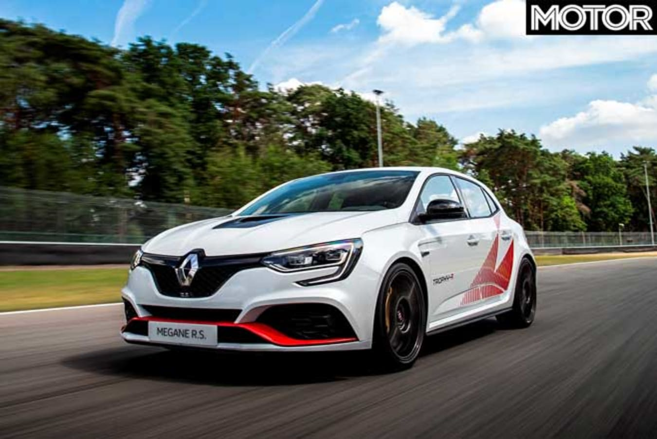 2020 Renault Megane RS Trophy-R record edition
