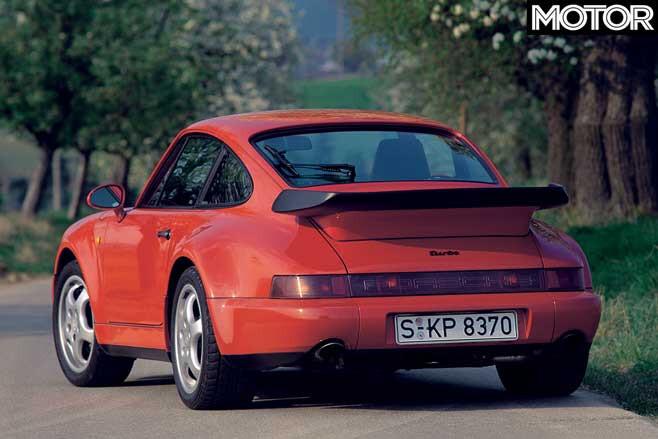 Porsche 911 Turbo History 964 Generation Rear Jpg