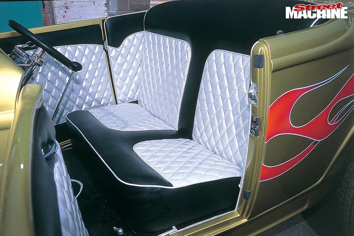 Ford Model A seats