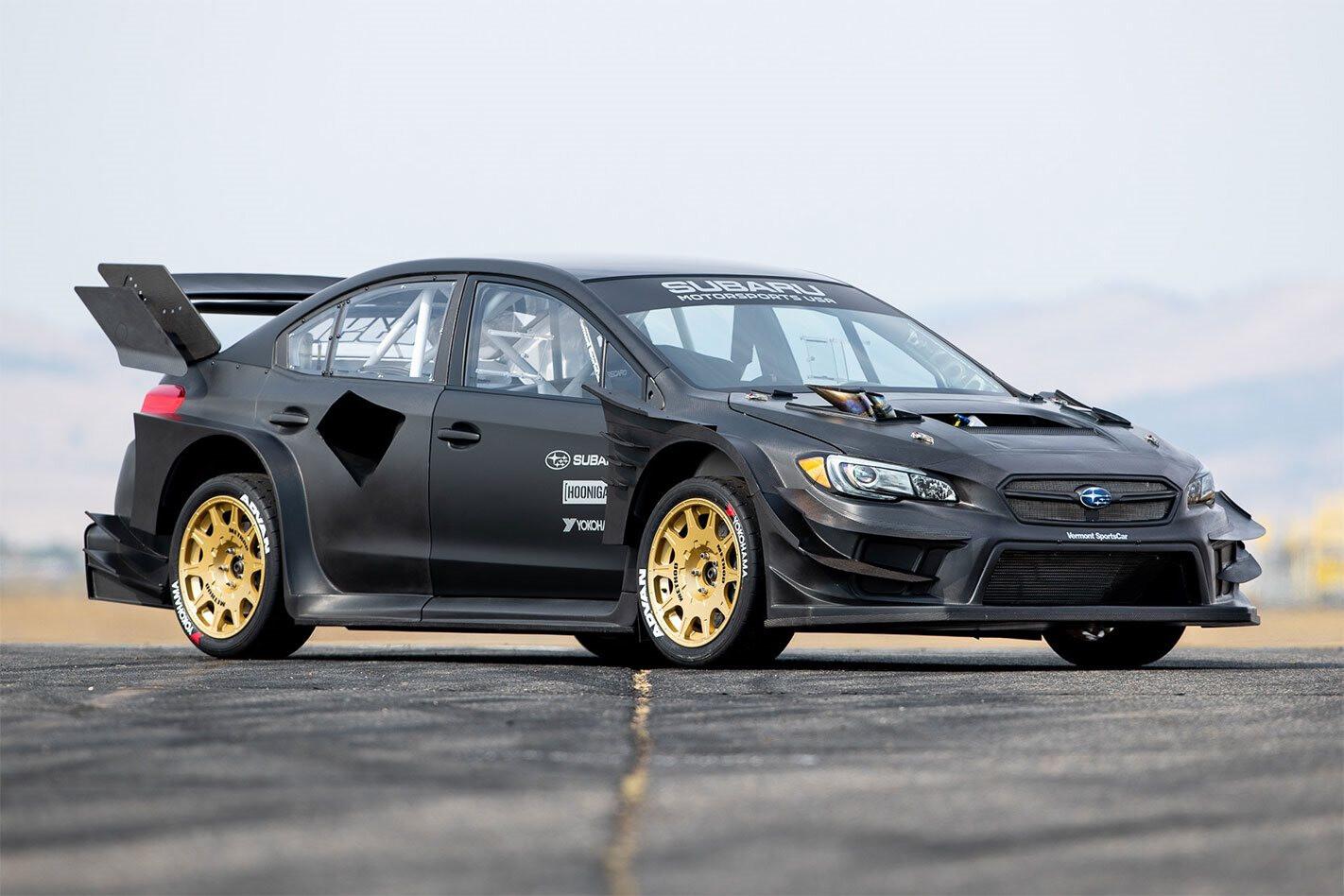 Travis Pastrana Gymkhana Subaru WRX STI