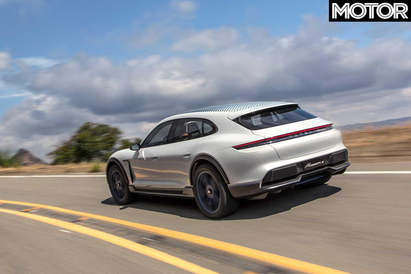 2018 Porsche Mission E Cross Turismo Concept Rear Drive Jpg